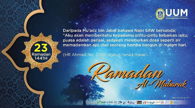 16/5/2020 ramadan day 23